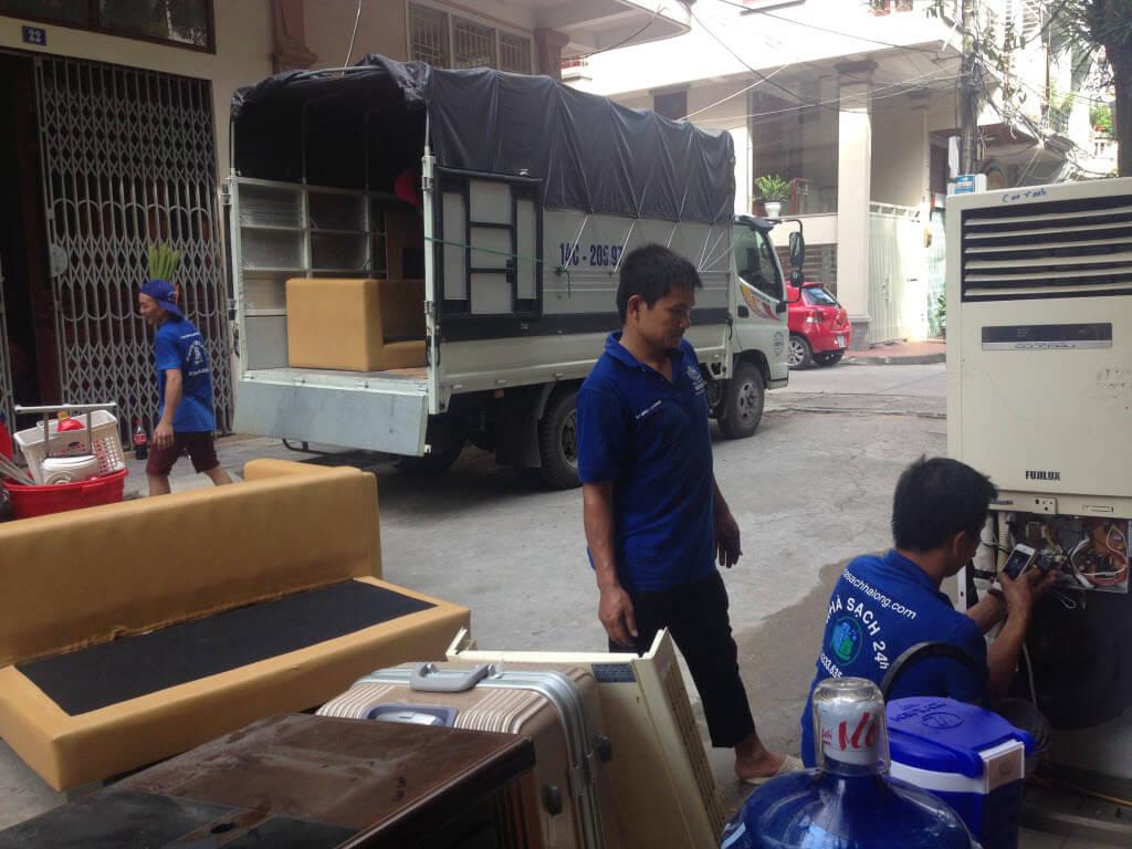 Dịch vụ chuyển nhà trọn gói tại quảng ninh giá rẻ