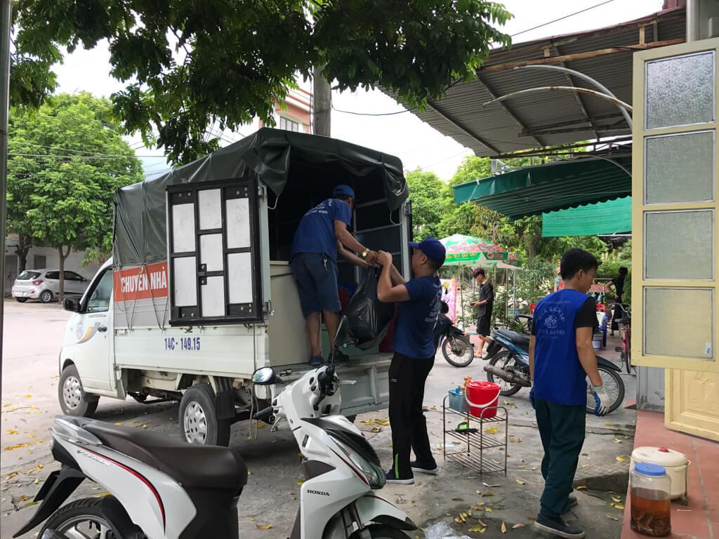 Thi công dọn nhà tại Cẩm Phả Quảng Ninh
